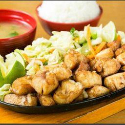 Tepanyaki de frango