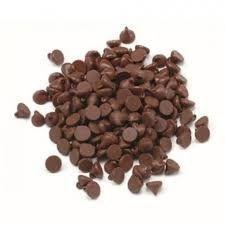 Minigotas de chocolate meio amargo