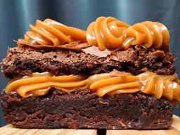 Brownie Gourmet Duo Doce de Leite