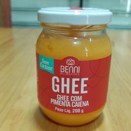 Manteiga Ghee com Pimenta Caiena 200g