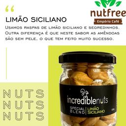 Incredible Nuts 120g - Limão Siciliano