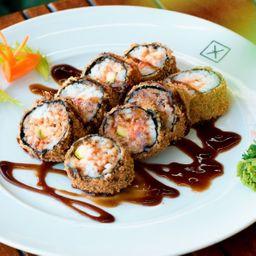 Hot Salmon Furai Roll