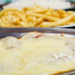 Filet á parmegiana