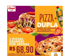 Combo Pizza Dupla