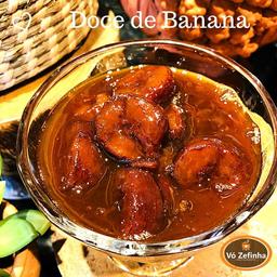 Doce Caseiro de Banana - 100g