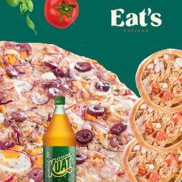 Combo Pizza Portuguesa e 6 Esfihas Salgadas