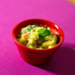 Porção guacamole