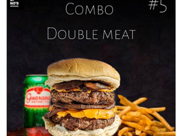 #5 Combo Simples Double Meat