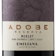 Vinho Adobe Merlot Orgânico  750ml