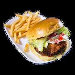Chicken Dú + Fritas + Refrigerante