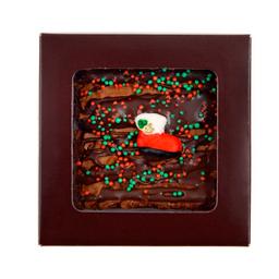 Brownie Presente de Natal