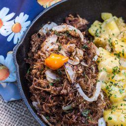 Carne Seca com Mandioca - 150g