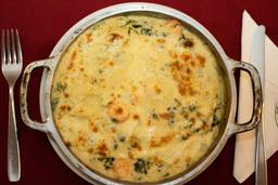 Camarão com espinafre (1pessoa)