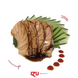 Sashimi Salmão Selado 5 Peças