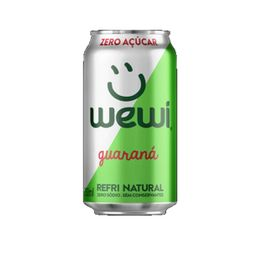 Wewi Guaraná Zéro 350ml