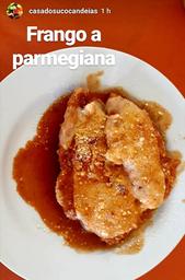 Combo Frango à Parmegiana + Refrigerante em Lata (350ml)