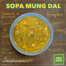 Sopa Mung Dal- Feijão Moyashi