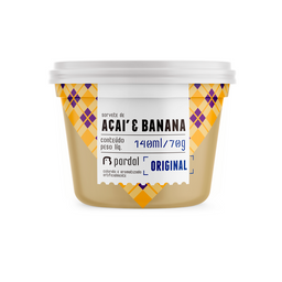 Açaí e Banana 140ml