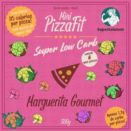Mini PizzasFit - Marguerita Gourmet
