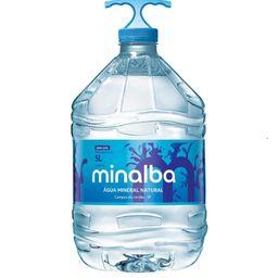 Agua mineral minalba de 5 lts