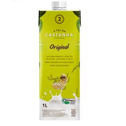 Alimento de Castanha Original Orgânico 1L