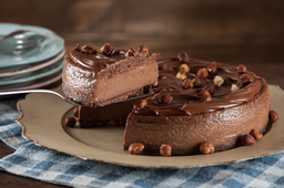 Torta de Nutella - Fatia