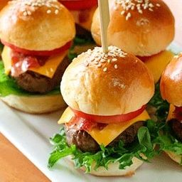Combo 4 Mini Hambúrgueres Artesanal