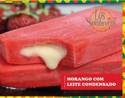 Paleta Mexicana Morango com Leite Condensado - 90g