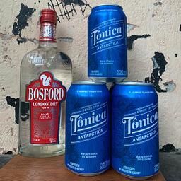 Garrafa da Gin Bosford + 6 Tonicas