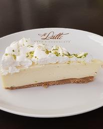 Torta Mousse De Limão - Fatia