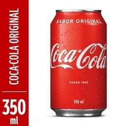 Refri. Lata - Coca-Cola 350ml