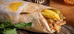 Kebab/Shawarma De Frango No Pão Árabe