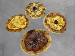 Combo Piccolas - Mini Pizza Calabresa + Coca-Cola