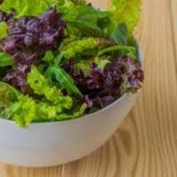 Salada Mix Pérola Negra + Molho
