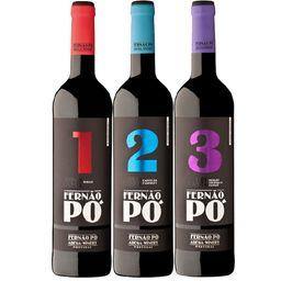 Kit Trio Fernão Pó Castas 2017 Portugal