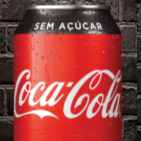 Coca-Cola sem Açúcar  lata 350ml