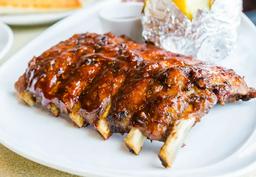 Costelinha de porco barbecue