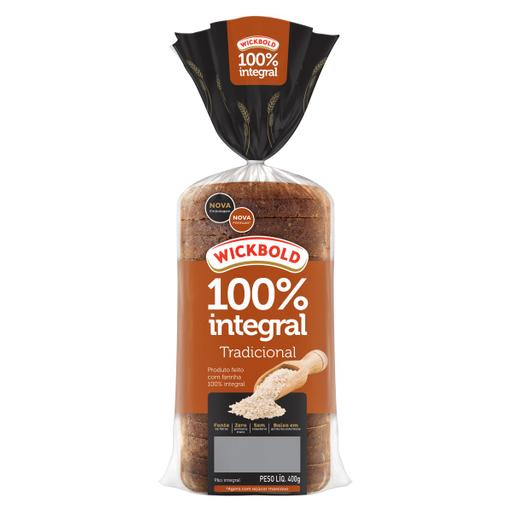 Wickbold Pão de Forma Grão 100 Integral