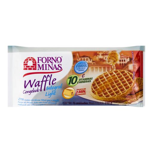 Waffle Light Integral Forno De Minas 210g