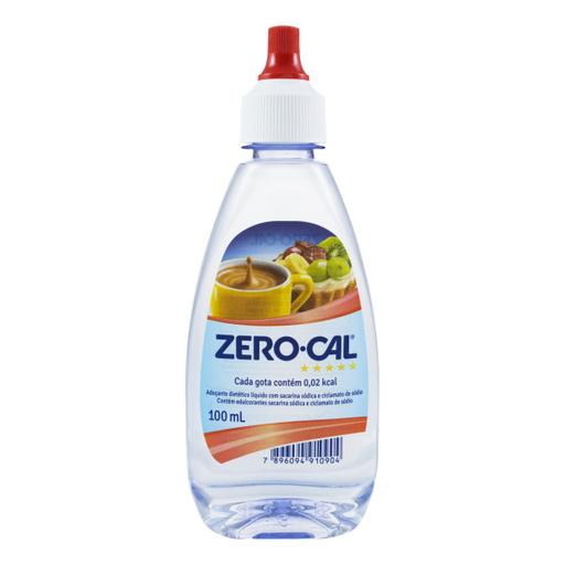 Zero Cal Adoçante Liquido Sacarina
