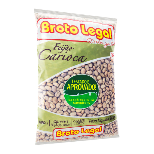 Broto Legal 2.19% Em 10 Unid Feijão Carioca