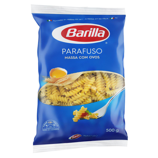 Barilla Macarrão Com Ovos Parafuso