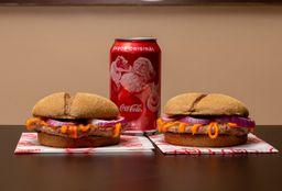 COMBO 1: Dois You Cheddar Cream  mais Coca-Cola - 350ml