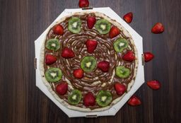 Pizza de Nutella