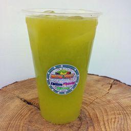 Suco de Limão, Laranja e Alface