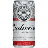 Lata Budweiser 269ml Gelada