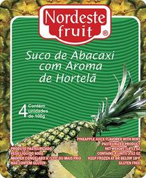 Polpa de Abacaxi com Hortelã Nordeste Fruit - 400g
