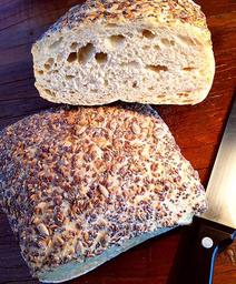 Pão Ciabatta Grãos