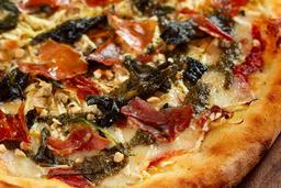 Pizza Aglio Nero - 35 cm