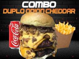 Combo Duplo Onion Cheddar